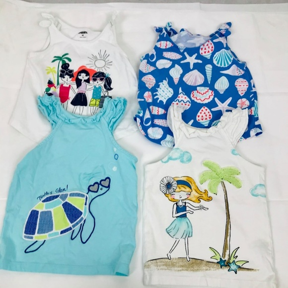 Gymboree Girls Toddler Tops  2T 3T  Preowned You Pick